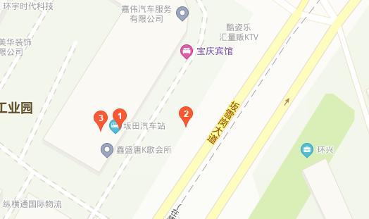 坂田汽车站在哪里