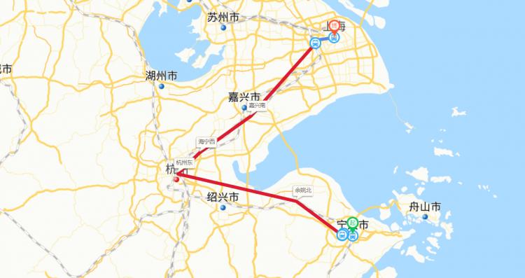 宁波到上海高铁要多长时间