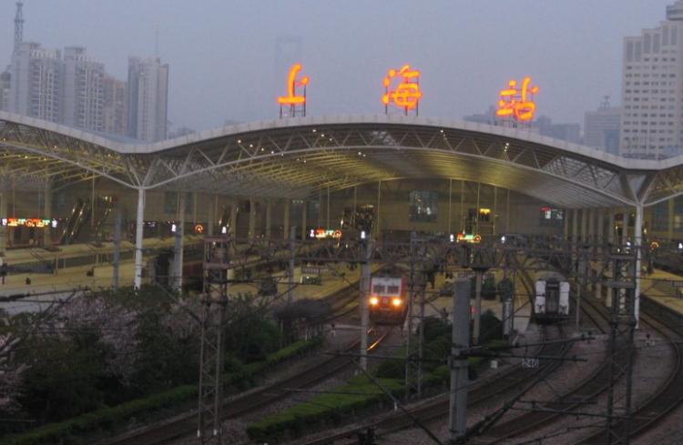 上海站是哪个站